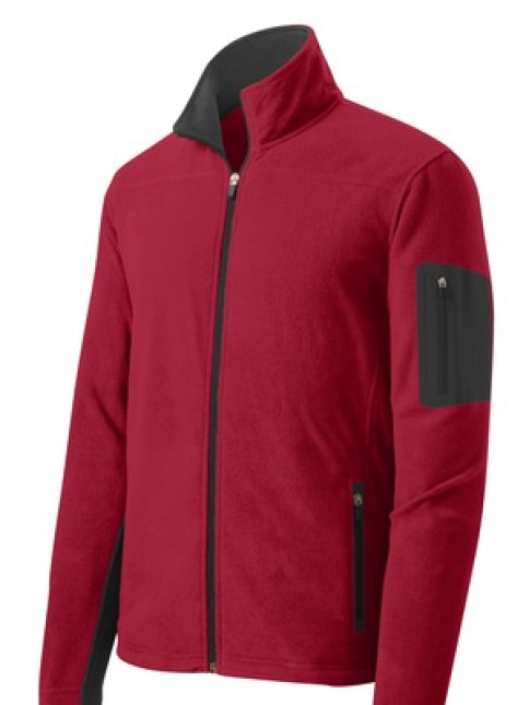 Port Authority® Summit Fleece Full-Zip Jacket.